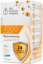Bio Medical Pharma LICUR7000 D 30 kaps.