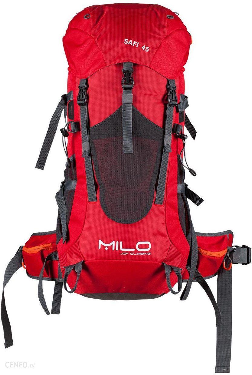 053c5a375cc95 Plecak Milo SAFI 45 Czerwony - Ceny i opinie - Ceneo.pl
