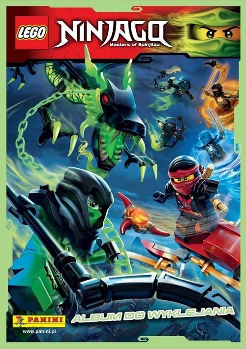 Panini Lego Ninjago Album Do Wyklejania Ceny I Opinie Ceneopl