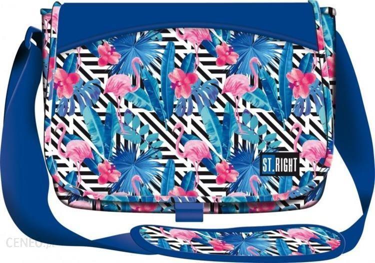 796e9e787204d St.Majewski Torba Na Ramię Sb1 Flamingo Pink Blue - Ceny i opinie ...