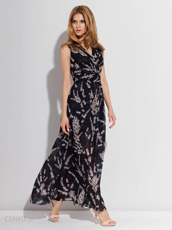 Sukienka maxi z kwiatowym motywem RAINBOW