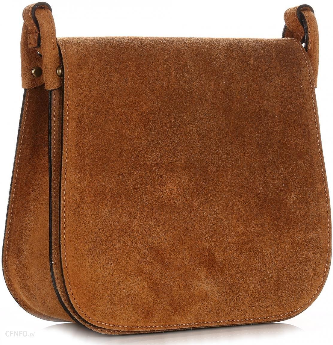 4c39e4581f419 Torebki Listonoszki Skórzane Firmy Genuine Leather Ruda (kolory) - zdjęcie 1