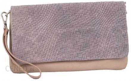 bcef0c9fd50fd Torebki damskie - kopertówki Barberini s - Różowy pudrowy - Ceny i ...