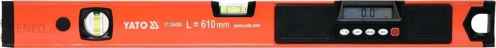 YATO Poziomnica elektroniczna LCD z laserem 610 mm YT-30400