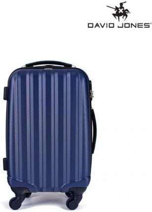 addc88ccd6c1b Markowe walizki David Jones komplet 3 szt w kolorze niebieskim ...