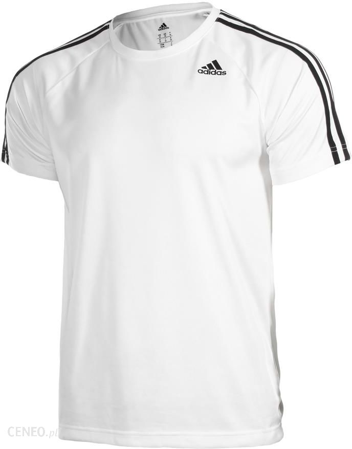 Adidas D2M 3 Stripes Tee Biały Bk0971