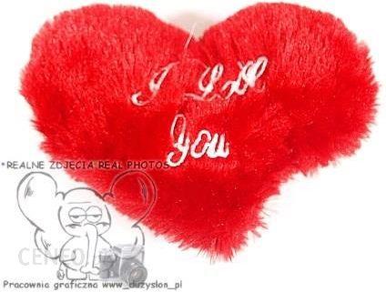 Poduszka Serce 17cm Plusz I Love You Walentynki Opinie I