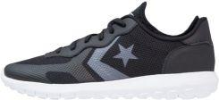 Nike Sportswear AIR FORCE 1 FLYKNIT LOW Tenisówki i Trampki blackwhite szary Zalando