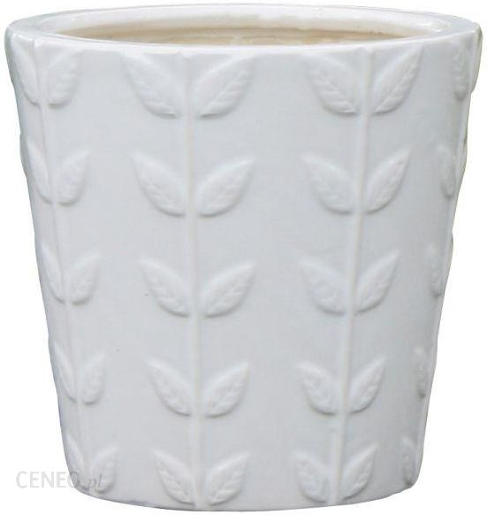 Castorama Blooma Doniczka Szkliwo 13 X 13 X 12 Cm S Biały