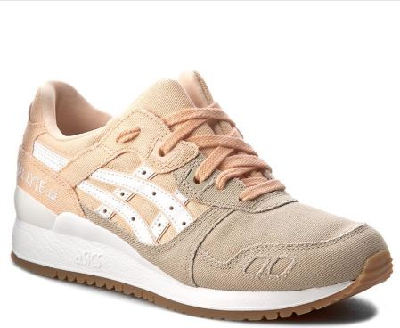 Sneakersy ASICS TIGER Gel Lyte III H7F9N Bleached ApricotWhite Ceny i opinie Ceneo.pl