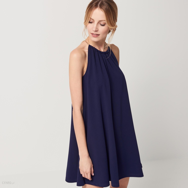 3ad95c54 Mohito - Sukienka z dekoltem halter - Niebieski - damski
