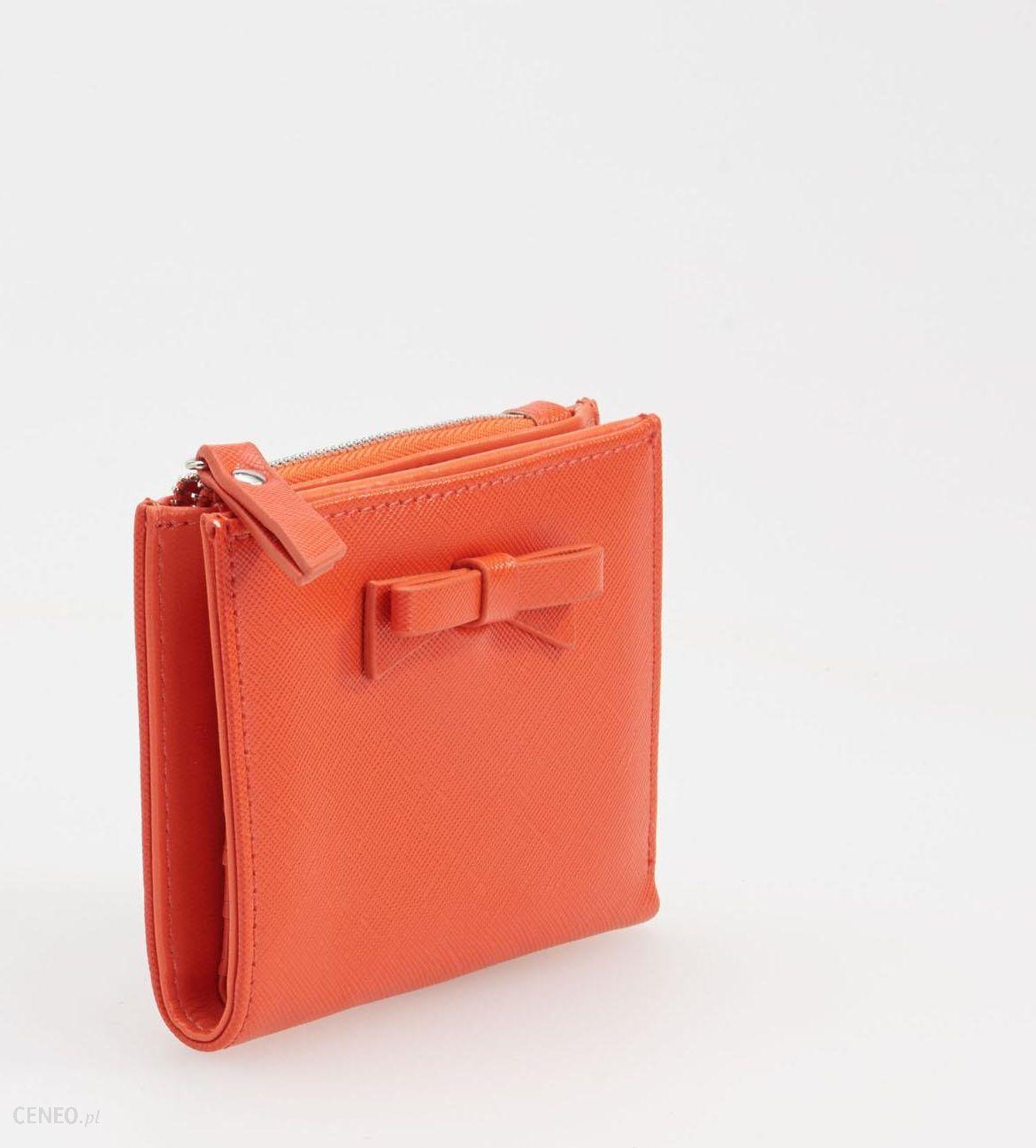 6215408d7e960 Reserved - Mały portfel z kokardką - Czerwony - damski - Ceny i ...