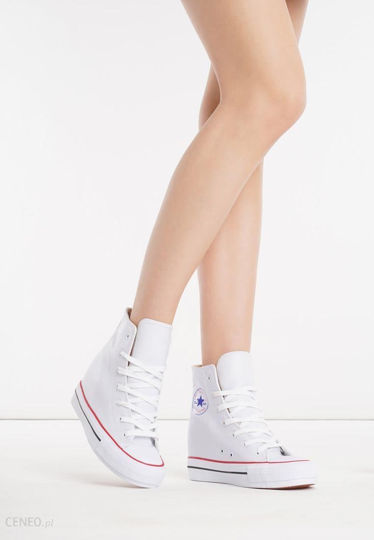 6759fd5ee6f1f Białe Sneakersy Yvonne - Ceny i opinie - Ceneo.pl