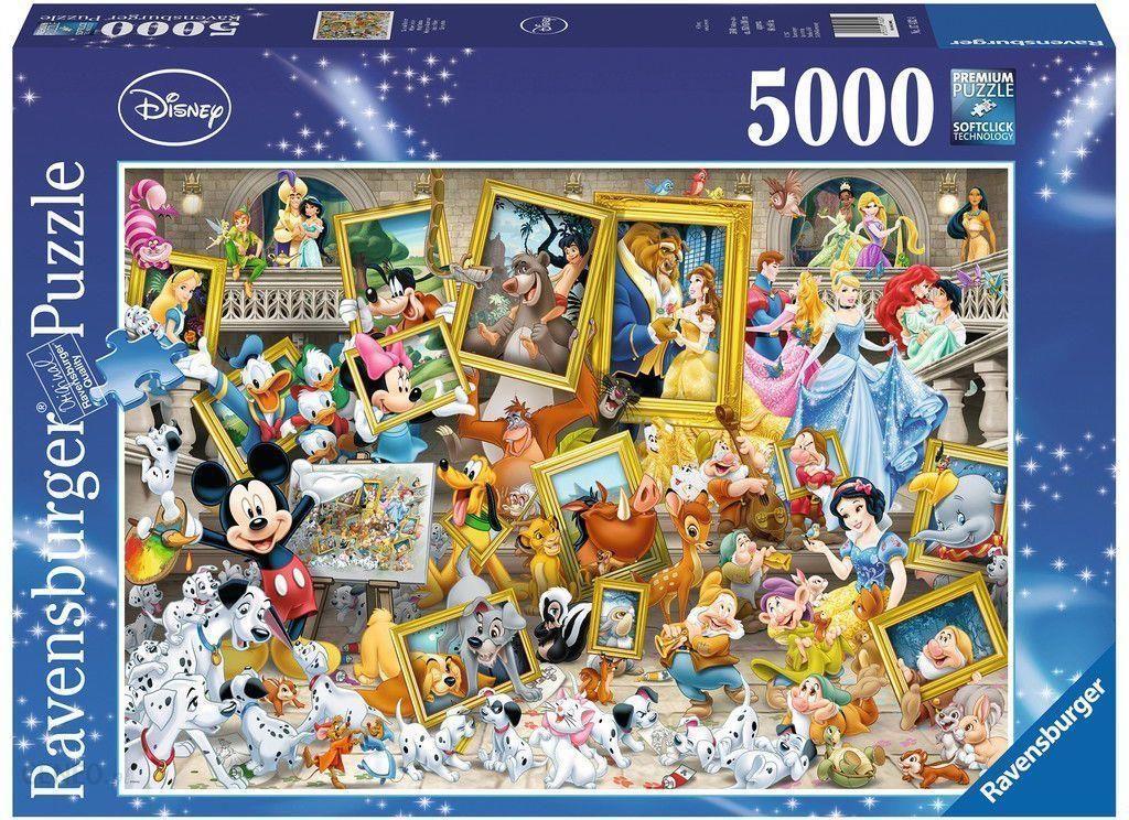 Ravensburger Artystyczny Mickey 5000el 174324