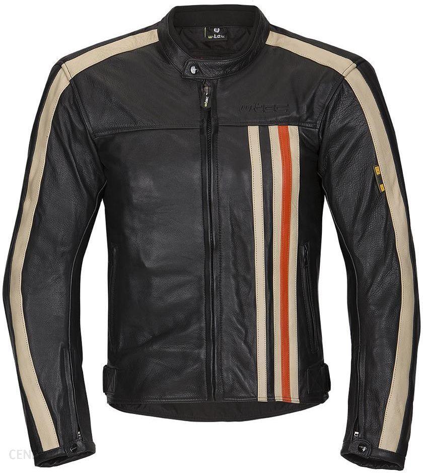 Odzież motocyklowa Męska skórzana kurtka motocyklowa W TEC NF 1114, L Opinie i ceny na Ceneo.pl