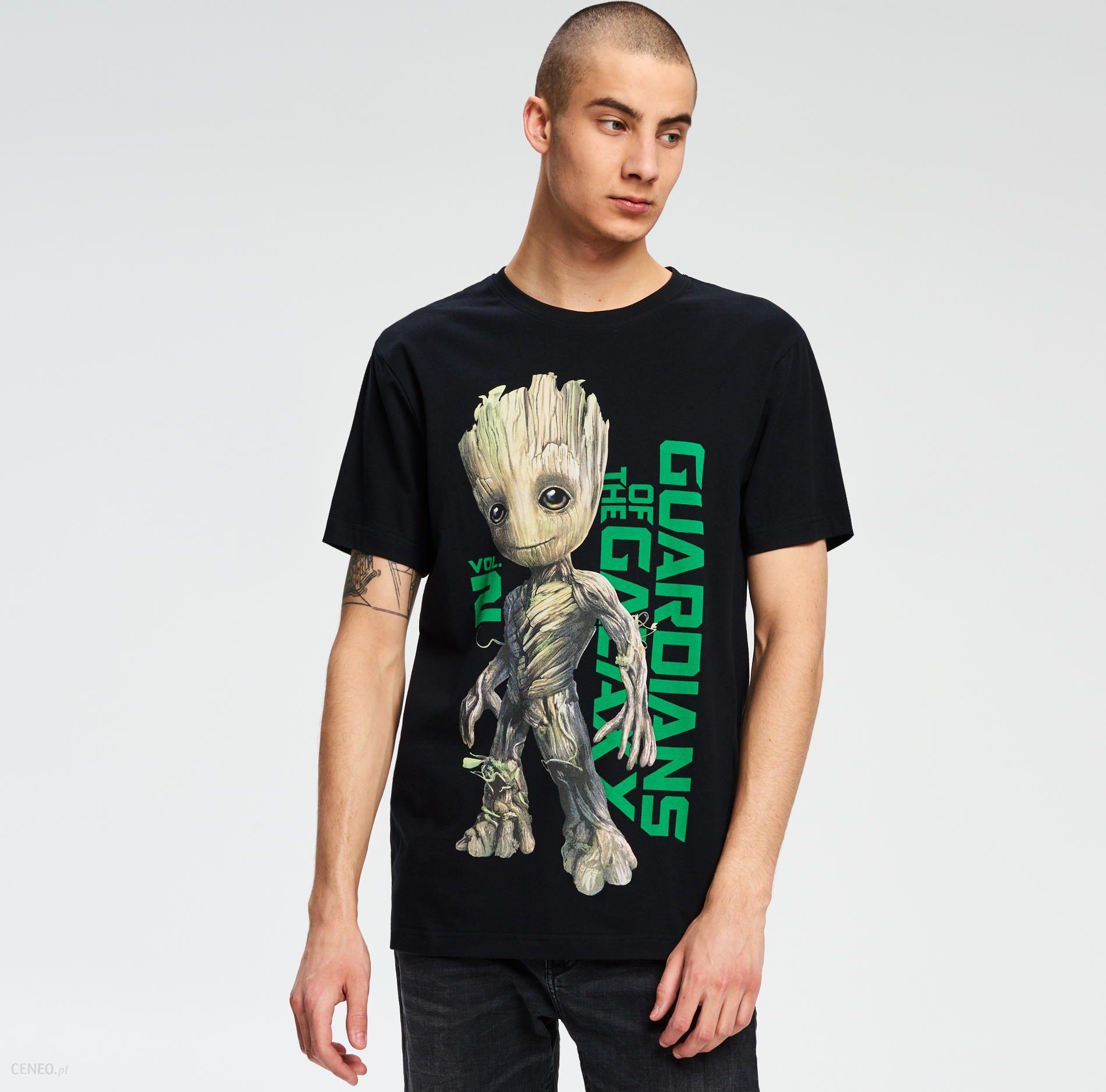 0f9fab326 Cropp - T-shirt strażnicy galaktyki - Czarny - męski - Ceny i opinie ...