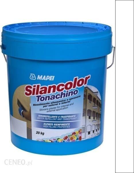 Tynk Mapei Tynk Elewacyjny Silikonowy Silancolor Tonachino 0000 20kg