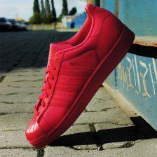 Buty adidas Originals Superstar Glossy TO S76724 czerwony, 40 Ceny i opinie Ceneo.pl