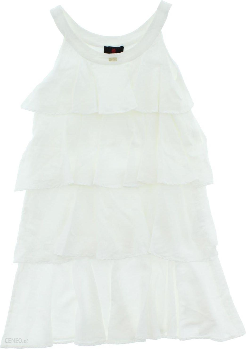 a89781eaff John Richmond Sukienka dziecięca Biały 4 lata - Ceny i opinie - Ceneo.pl