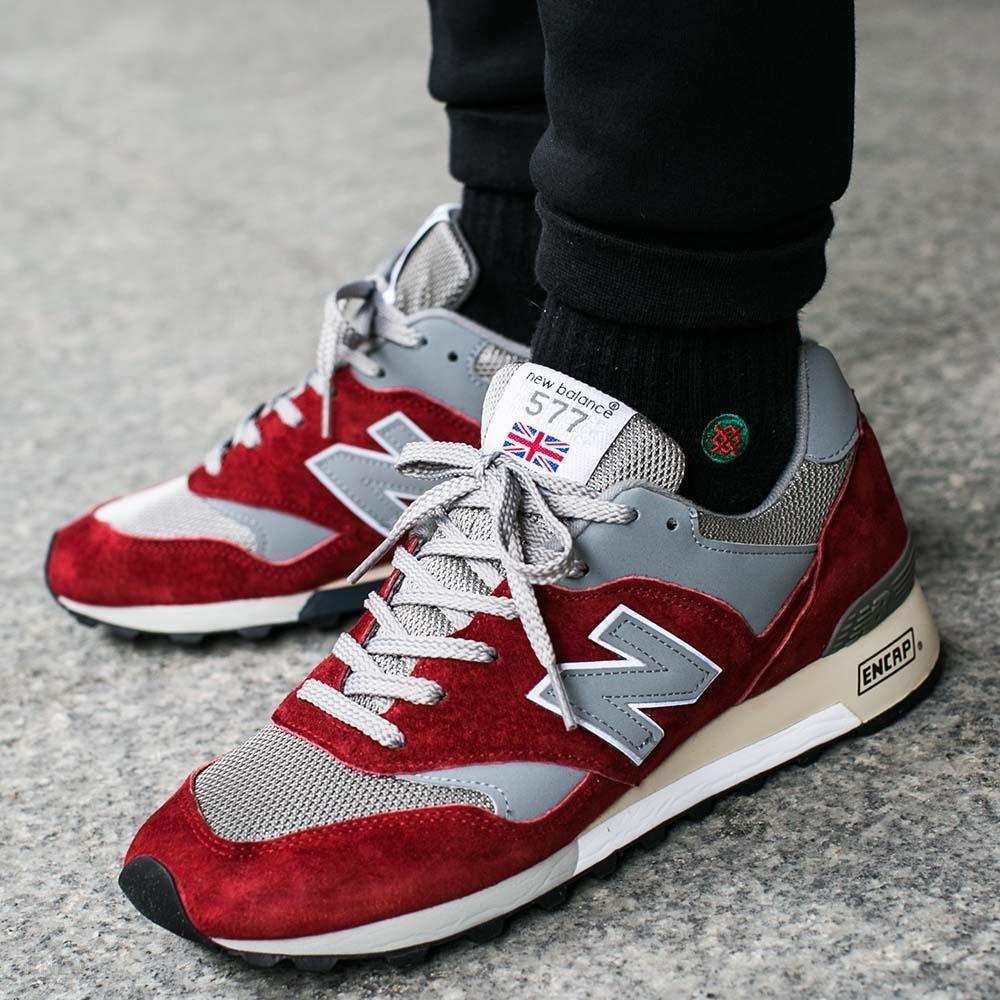 new balance 577 czerwone