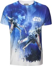 Star Wars: Rogue One Men's X-Wing Sublimation T-Shirt - White - XXL