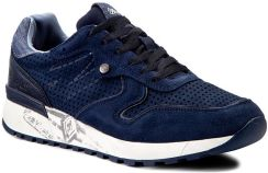Sneakersy WRANGLER Sunny Punched WM171080 Navy 16 Ceny i opinie Ceneo.pl