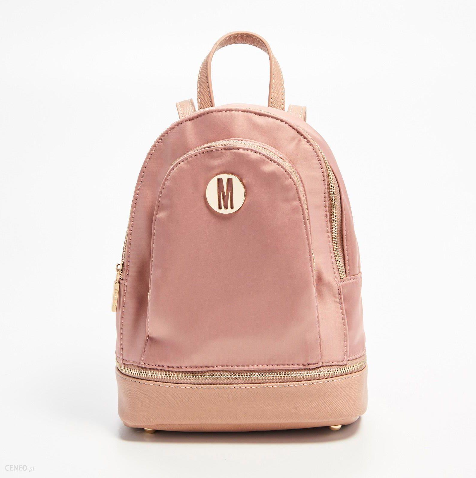 ebb5b2336cfcd Mohito - Plecak z dodatkową kieszenią - Różowy - damski - Ceny i ...