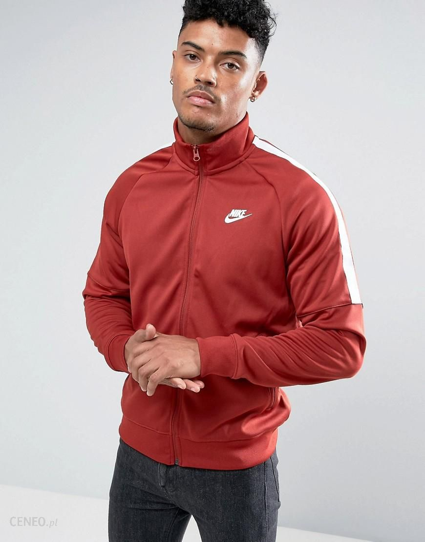 c81452b15 Nike Tribute Track Jacket In Red 678626-675 - Red