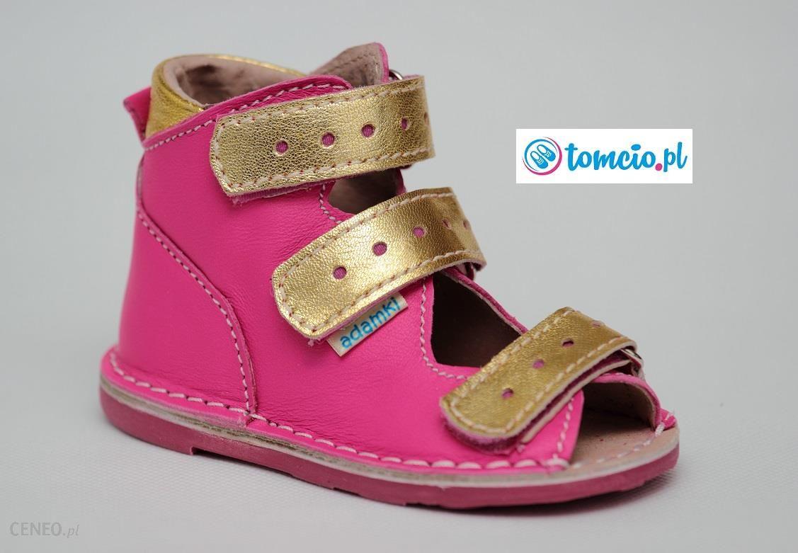 7d3d40d6 Buty profilaktyczne Adamki, wzór 012NM, fuksja/złoto - Ceny i opinie ...