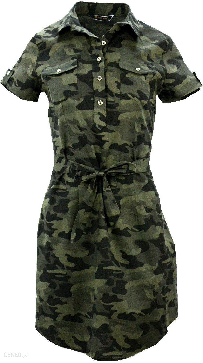 TUNIKA KOSZULOWA MORO sukienka z krótkim rękawem - Ceny i opinie ... c0f61f2a1c