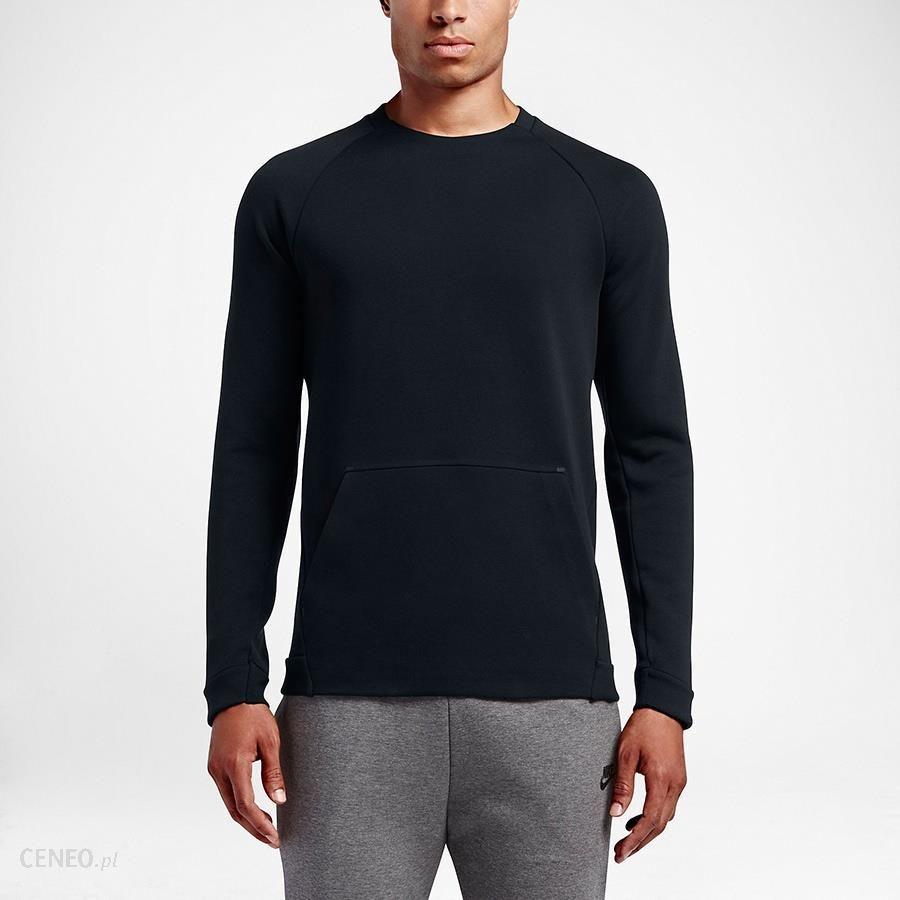 Bluza Nike M NSW TCH FLC CRW LS 805140 010 S rozm. L Ceny i opinie Ceneo.pl