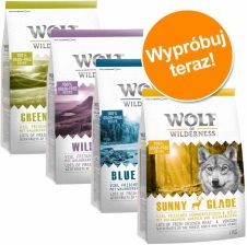 Wolf of Wilderness Adult 4 smaki 4x1kg