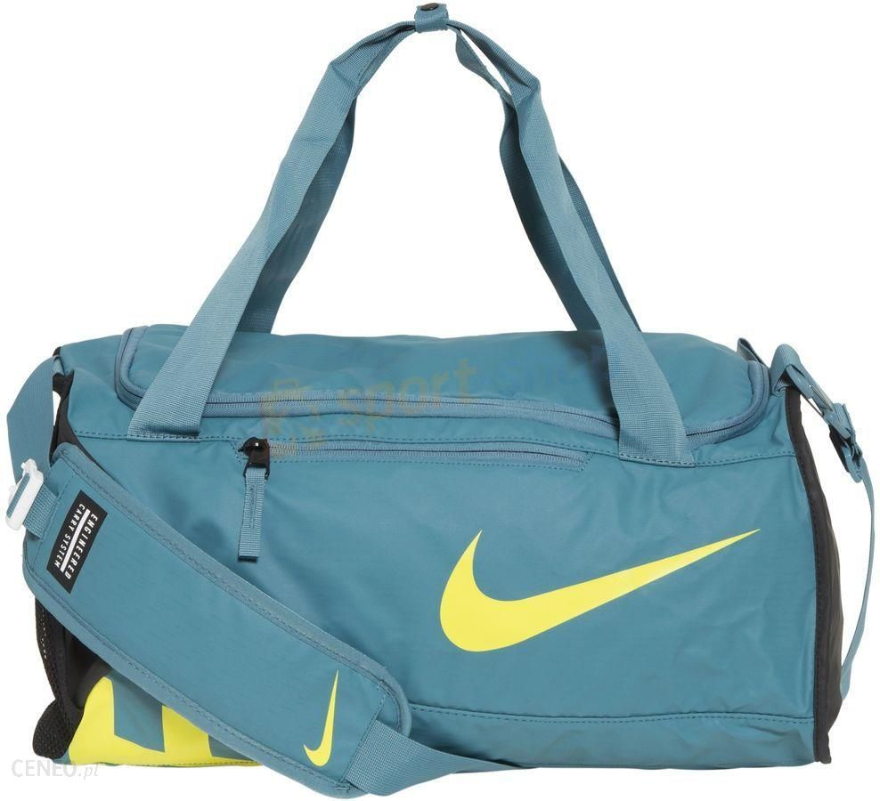 c6b040457769a Torba Alpha Adapt Crossbody S 35L Nike (niebiesko-żółta) - Ceny i ...