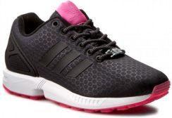 Buty Adidas ZX Flux rozm. 40 23 czarno różowe Ceny i opinie Ceneo.pl
