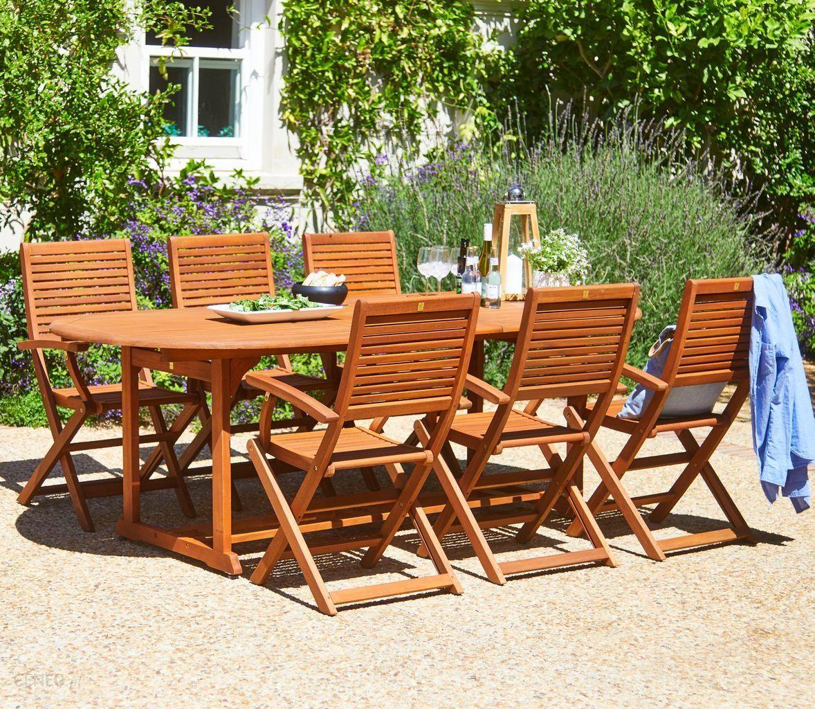 Stół Ogrodowy Jysk Stół Grimstad4 Krzesła Vantore Zielona