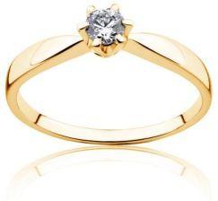 Savicki Pierścionek Zaręczynowy Triumph Of Love Szafir Złoto żółte