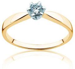 Savicki Pierścionek Zaręczynowy Triumph Of Love Diament Złoto