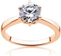 3441b8d6b5177f Savicki Pierścionek zaręczynowy Triumph of Love Diament Złoto różowe ...
