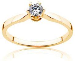 Savicki Pierścionek Zaręczynowy Triumph Of Love Diament Złoto żółte