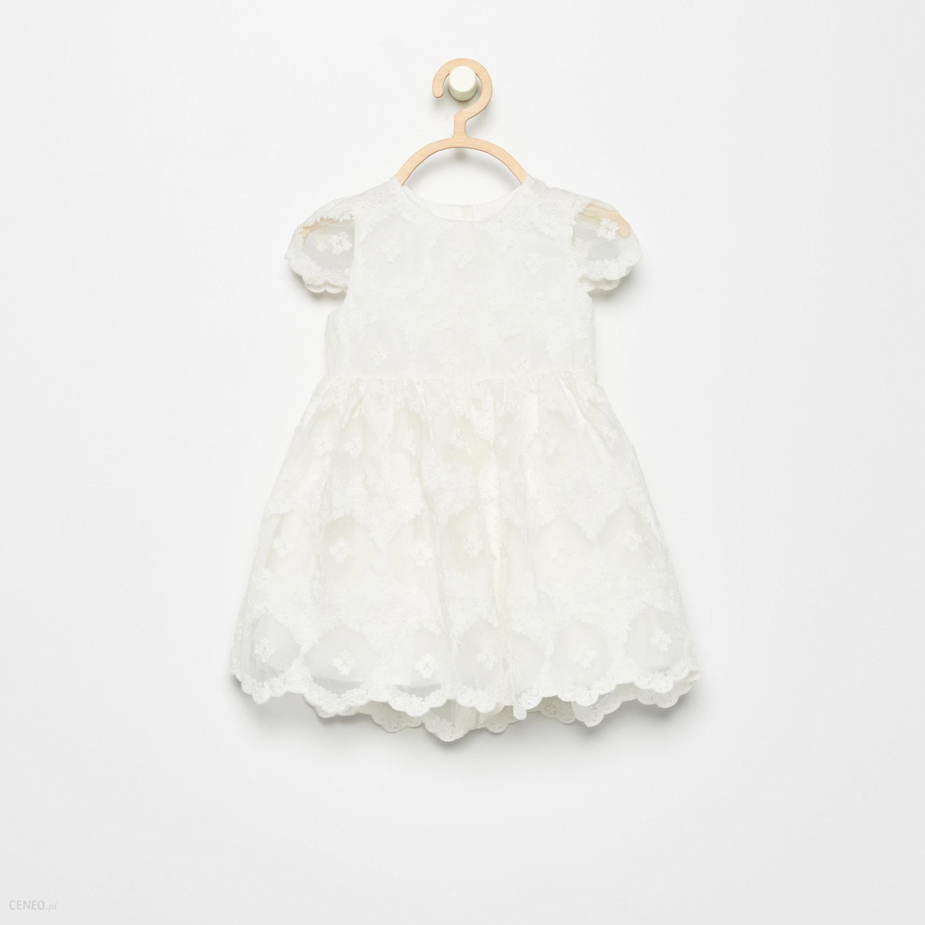 b3a2c3a2 Reserved - Koronkowa sukienka - Kremowy - damski