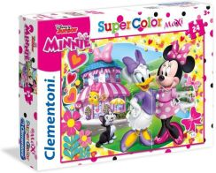 Clementoni Puzzle Supercolor Maxi Minnie 24