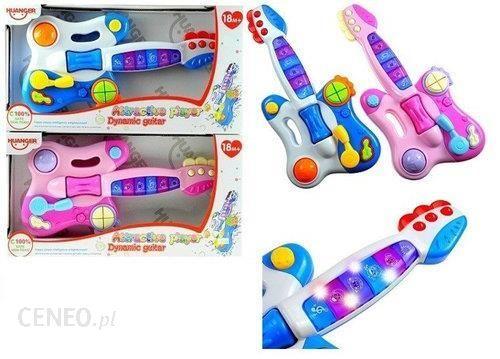 """""""Lean Toys"""" interaktyvi didelė muzikinė gitara mažyliui"""