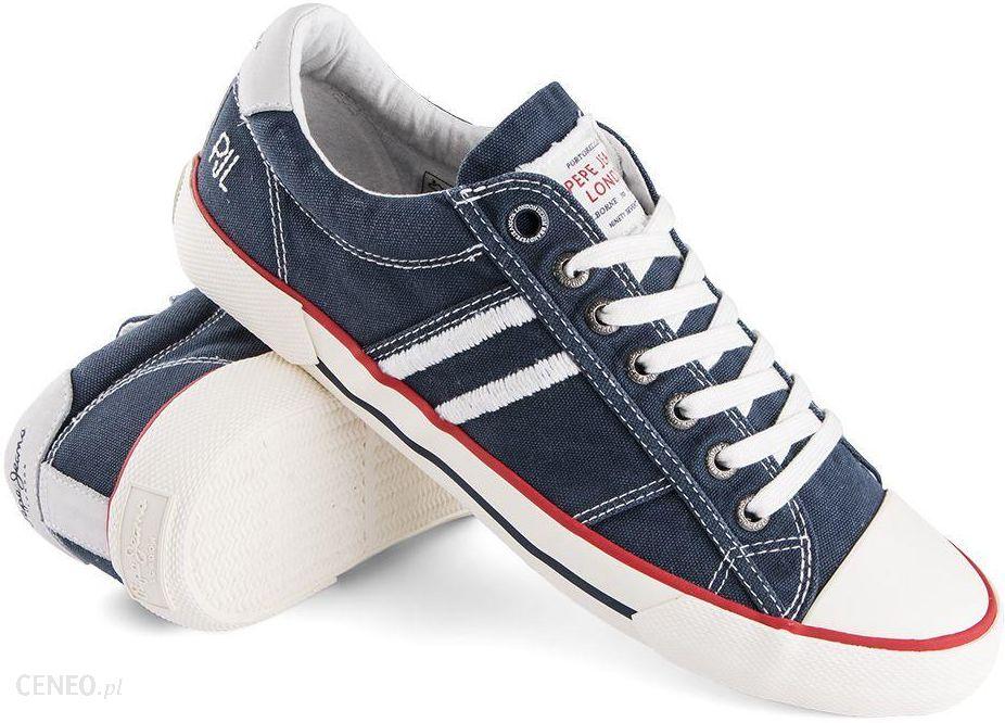 983dcda54 Trampki Pepe Jeans Serthi Washed Blue - Ceny i opinie - Ceneo.pl