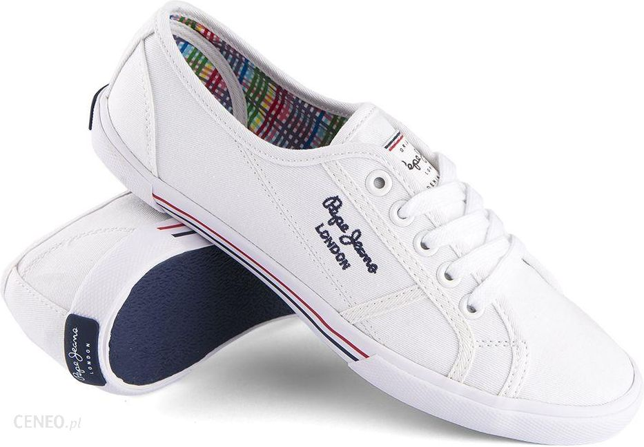 Trampki Pepe Jeans Aberlady Basic White