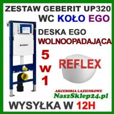 Geberit Duofix UP320 + Reflex Ego K13102900+111.320.00.5