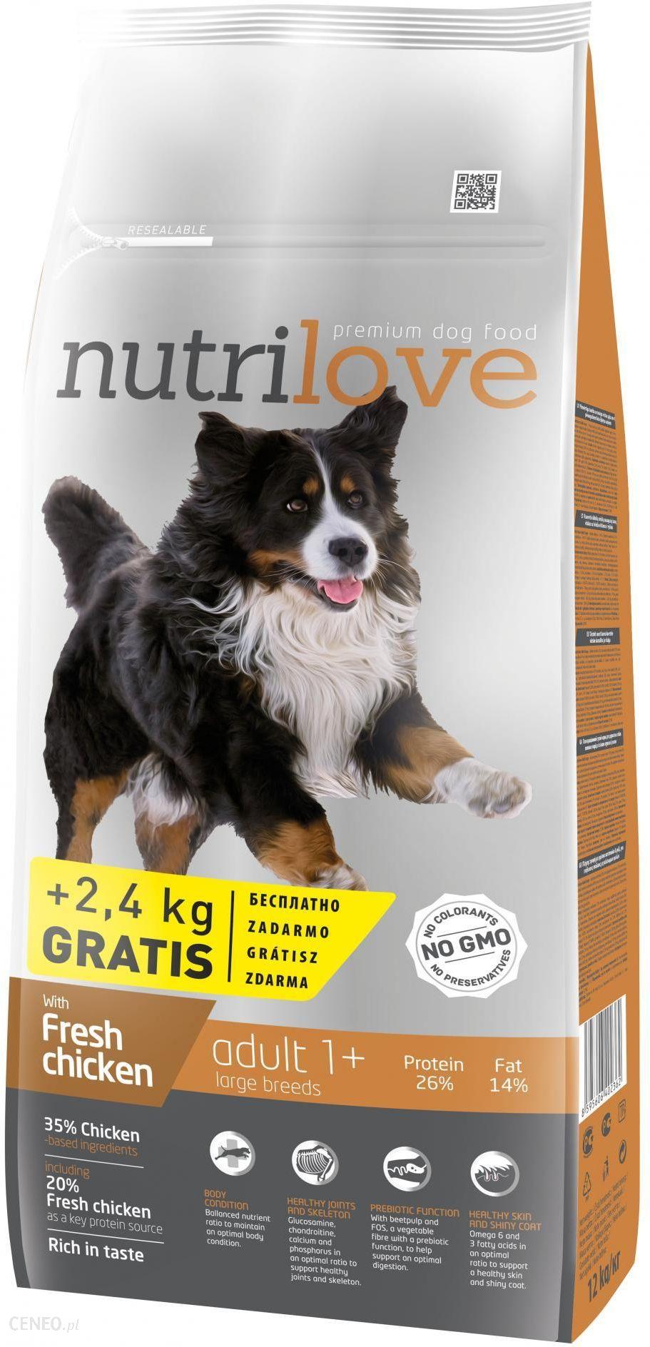 Nutrilove Adult Large 12kg