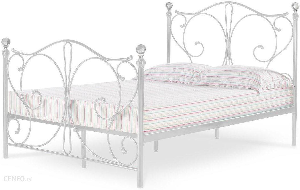 Lectus łóżko Metalowe Elizabeth 140x200 Biały