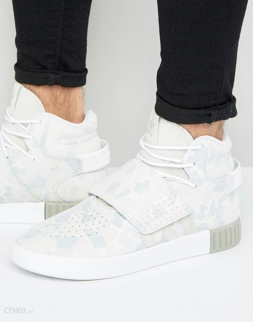 5b67e4df7 adidas Originals Tubular Invader STR Trainers In White BB8394 - White -  zdjęcie 1