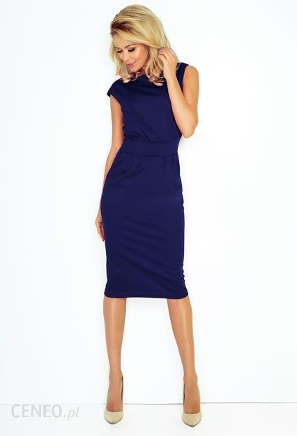 2c0710e706 Sukienka SARA ciemnoniebieska XL ciemnoniebieski - Ceny i opinie ...