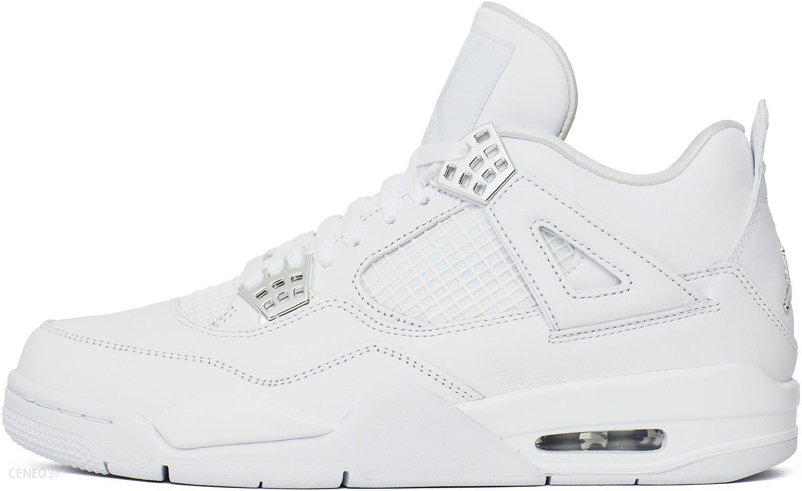 Nike Chłopięce AIR Jordan 4 Retro PURE MONEY Buty Sportowe Biały